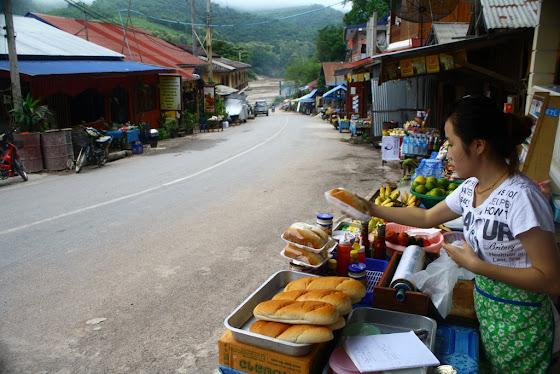 Así era el pueblito Pak Beng en Laos