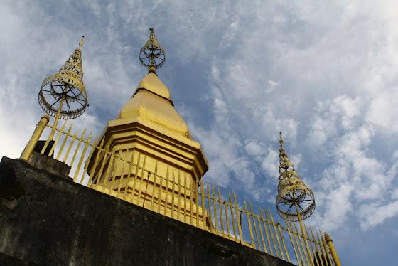 Otro de los templos en Luang Prabang