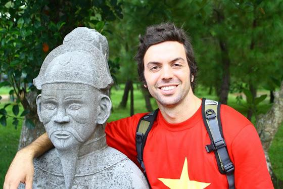 Aquí estoy yo en Hue, Vietnam