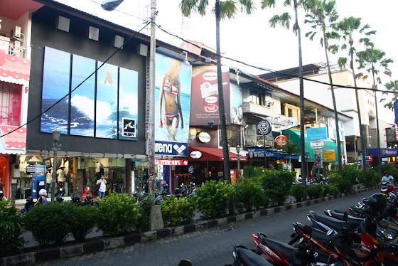 Calle de Bali, Indonesia