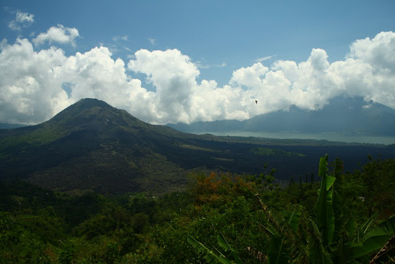 Montañas en Bali