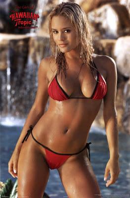 Girl hawaiian tropic models