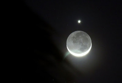 star, moon