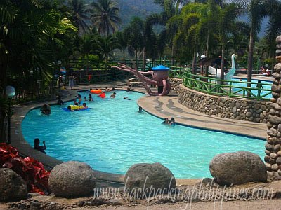 Backpacking Philippines Palm Grove Hot Springs Resort