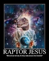 stuff raptor jesus likes