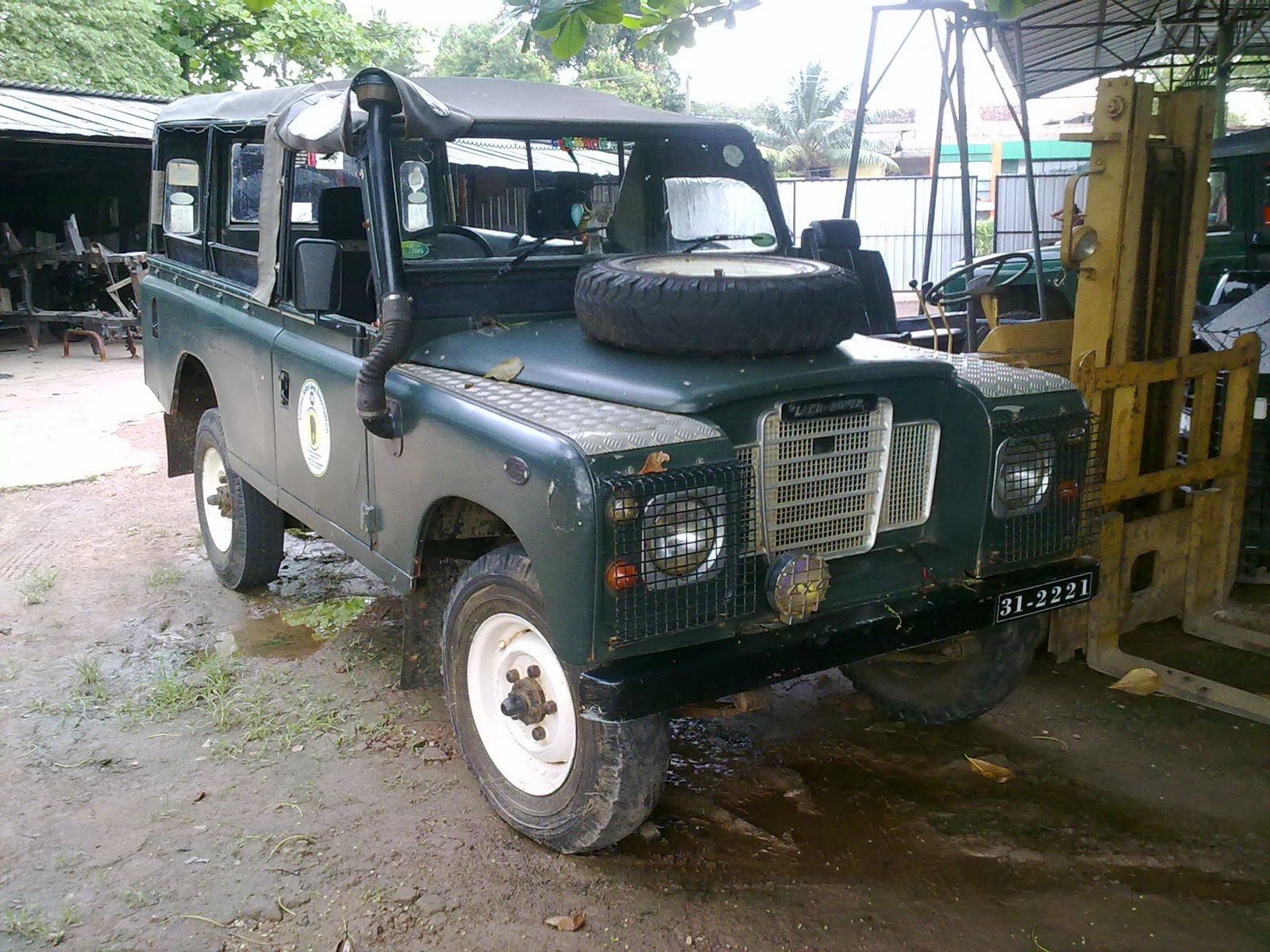 Defender safari with land rover