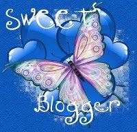 Sweet Blogger Award- From Sandy W and Staci