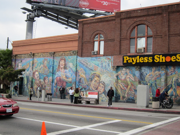 East Los Angeles Murals Mexican