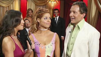 Steve Guttenberg  and Anna Trebunskaya
