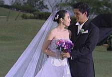 wedding photo of Claudine and Raymart