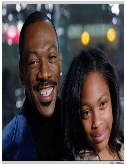 Eddie Murphy and daughter Shayne  at entertainmentnewsnevents.blogspot.com