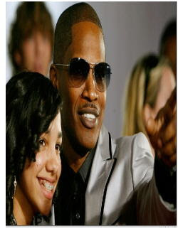 Jamie Foxx and daughter Corinne<br /> entertainmentnewsnevents.blogspot.com