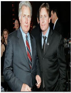 Martin Sheen and Emilio Estevez<br /> entertainmentnewsnevents.blogspot.com