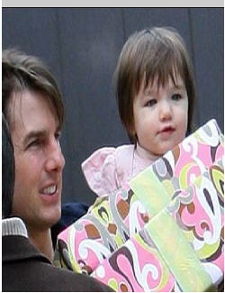 Tom Cruise and daughter Suri at<br />entertainmentnewsnevents.blogspot.com