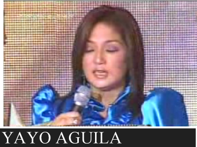 Yayo Agui;a at PBB Celebrity Edition
