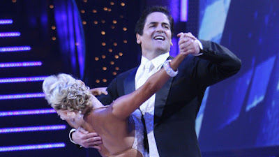 image of mark cuban and kym johnson