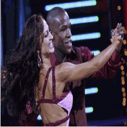 Floyd mayweather and karina smirnoff