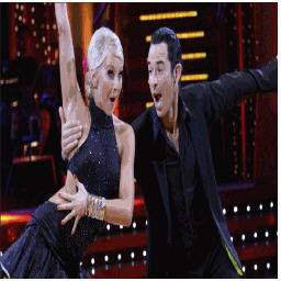helio castroneves and julienne hough