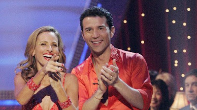 Marlee Matlin and Fabian Sanchez