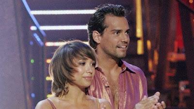Cristian dela Fuente and Cheryl Burke