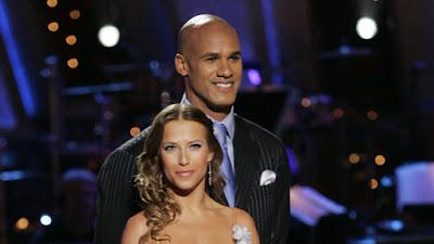 Jason Taylor and Edyta Sliwinska