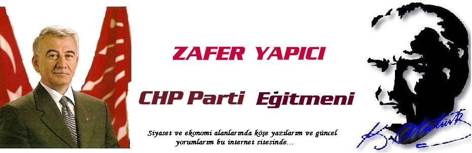ZAFER YAPICI - CHP PARTİ EĞİTMENİ