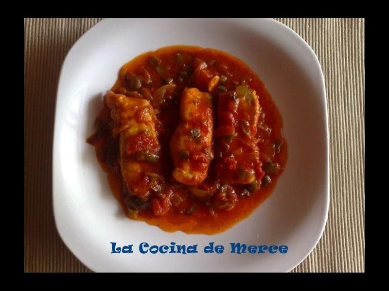 La cocina de merce lomo de merluza en salsa - Cocinar lomos de merluza ...