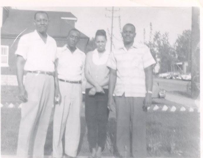 Washington family pic taken in Gary, IN