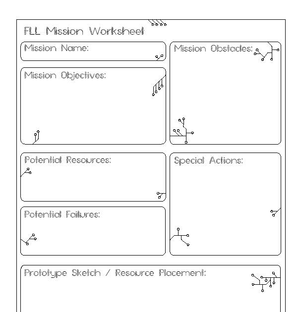 j worksheet