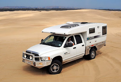 Sleek new rugged truck camper design