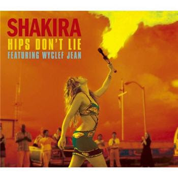 hips dont lie shakira album cover. SHAKIRA - HIPS DONT LIE