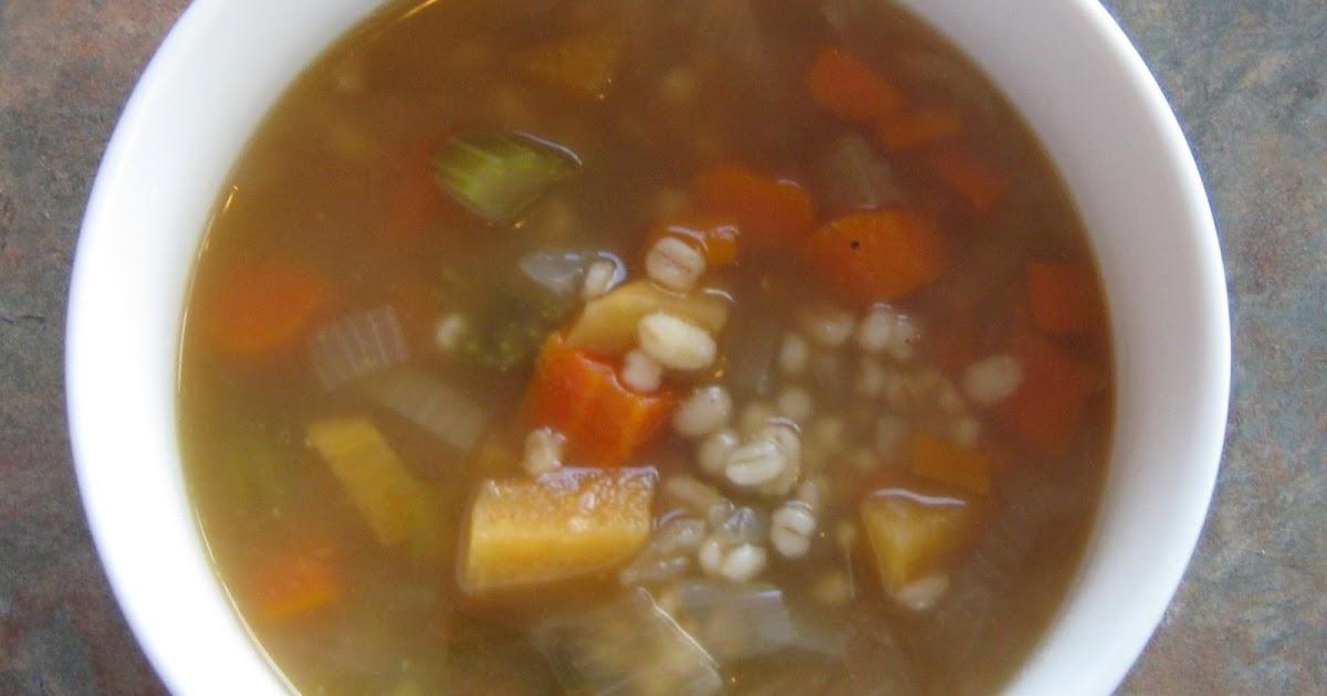 Les douceurs de genny soupe boeuf et orge - Peut on congeler de la soupe ...