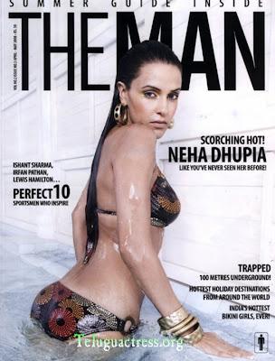 Neha Dhupia in swimsuit Bikini