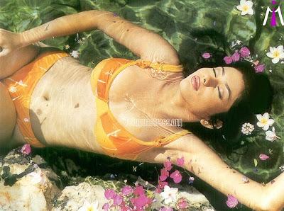 Actress Namitha in Swimsuit Bikini