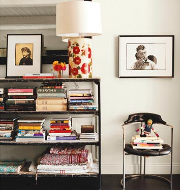 Eclectic Bohemian Laid back home of Amanda Peet in Vogue