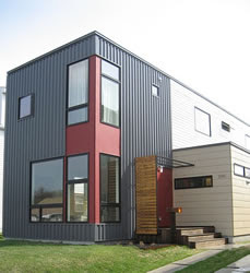 Container homes container homes for sale container homes nz container homes supply container - Hive modular x line container home in canada ...