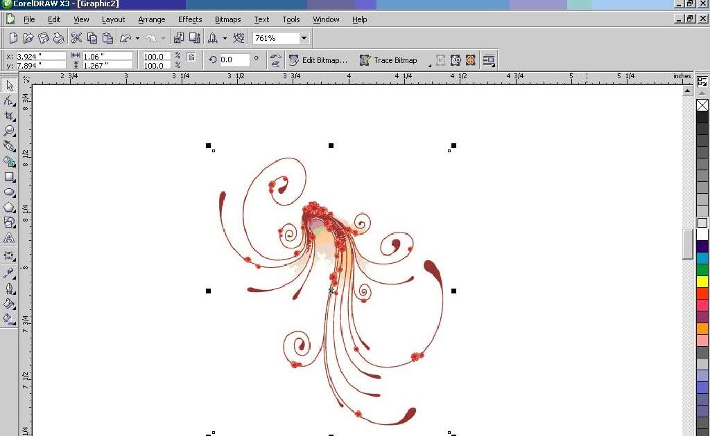 Как сделать открытку в кореле