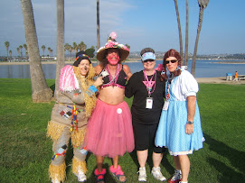 Me w/ /Bustin' Out Billy, Dorothy and The Scarecrow