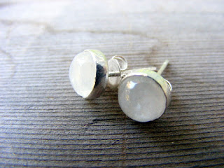 rainbow moonstone bella earrings twilight inspired