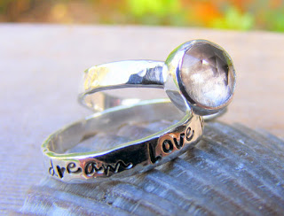 Crystal Quartz in Sterling Silver ring