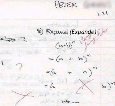 Resultado de imagen de humor matematico