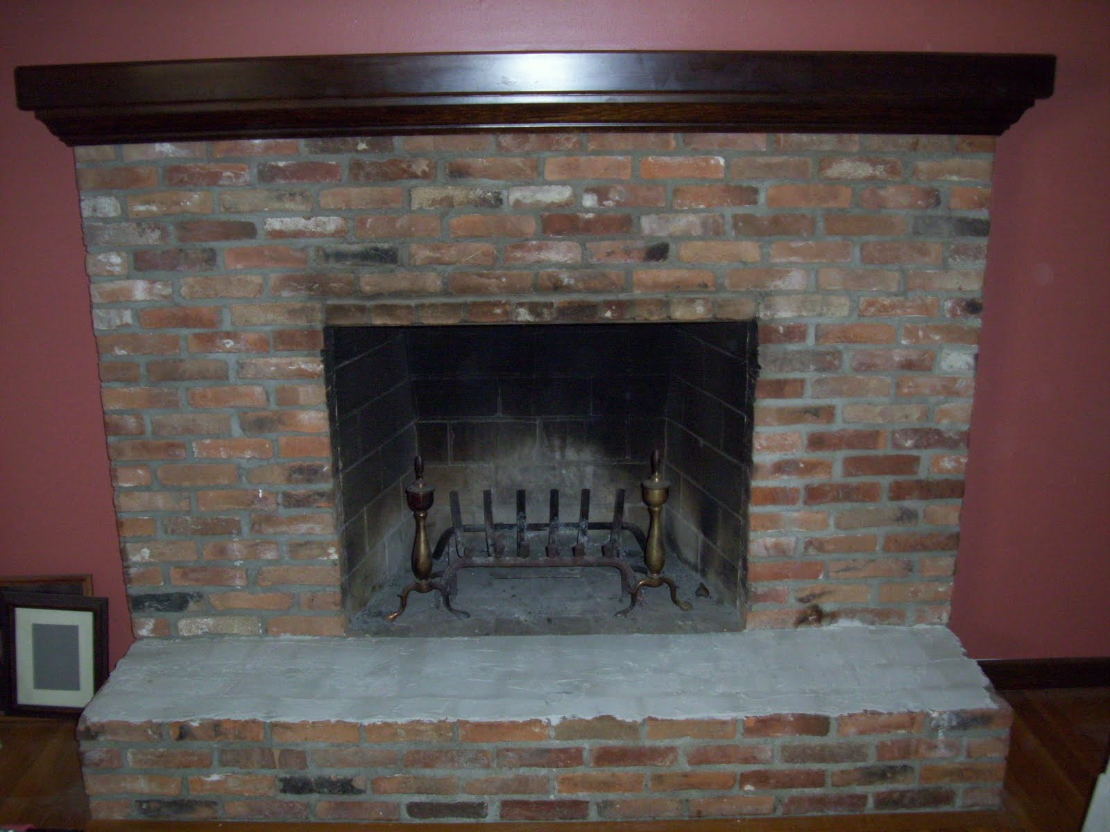 Decor4poor: Fireplace Makeover