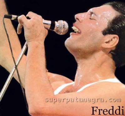 Fredy Mercury sin bigotito