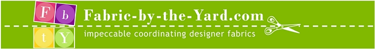 Fabric by the Yard Banner