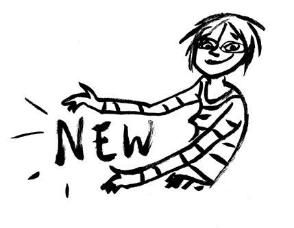 Stephanie Piro's Cartoon Blog: Launching My New Spiffy