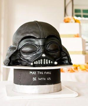 Fun Friday: Darth Vader Cakes (3/6)