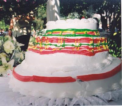 Cake Wrecks Wedding Plaid