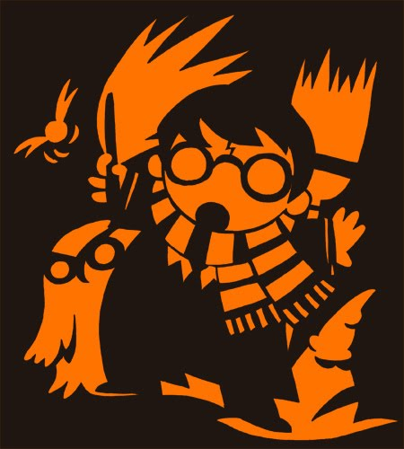 harry potter pumpkin carving templates - epbot pumpkin fun