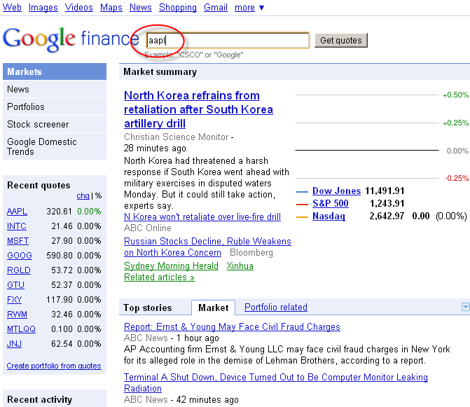 Aapl Quote: Refman's World: Finding Option Chains In Google Finance