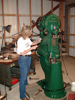 Osage Bluff Quilter Restoring A 50 Lb Little Giant Trip